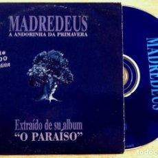 CDs de Música: MADREDEUS - A ANDORINHA DA PRIMAVERA - CD SINGLE PROMOCIONAL 1997 - HISPAVOX. Lote 146540922