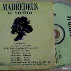 CDs de Música: MADREDEUS - O SONHO - CD SINGLE PROMOCIONAL - 1998 - HISPAVOX. Lote 146541798