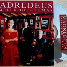 CDs de Música: MADREDEUS - SAMPLER DE 4 TEMAS - CD SINGLE PROMOCIONAL 2000 - HISPAVOX. Lote 146550666