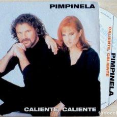 CDs de Música: PIMPINELA - CALIENTE CALIENTE - CD SINGLE PROMOCIONAL 1999 - POLYDOR. Lote 146551514