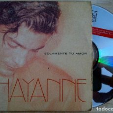 CDs de Música: CHAYANNE - SOLAMENTE TU AMOR - CD SINGLE 1996 - CBS. Lote 146554498