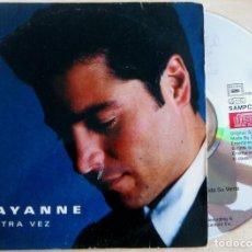 CDs de Música: CHAYANNE - OTRA VEZ - CD SINGLE PROMOCIONAL 1998 - COLUMBIA. Lote 146555034