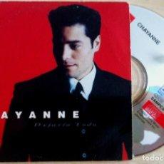 CDs de Música: CHAYANNE - DEJARÍA TODO - CD SINGLE - COLUMBIA. Lote 146558266