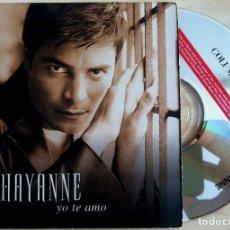 CDs de Música: CHAYANNE - YO TE AMO - CD SINGLE PROMOCIONAL - 2000 - COLUMBIA. Lote 146559238