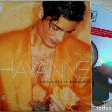 CDs de Música: CHAYANNE - VOLVER A NACER - CD SINGLE - 1996 - CBS. Lote 146560358