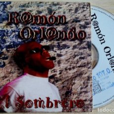 CDs de Música: RAMON ORLANDO - EL SOMBRERO - CD SINGLE PROMOCIONAL - 1997 - KAREN. Lote 146563350
