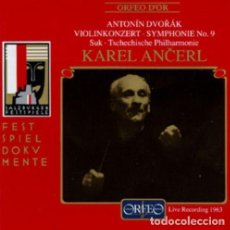 CDs de Música: DVORAK - 9ª SINFONIA - ANCERL - SUPRAPHON. Lote 146596966