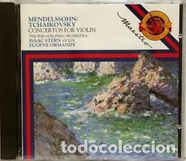 MENDELSSOHN / TCHAIKOVSKY - CONC VIOLIN STERN - ORMANDY (Música - CD's Clásica, Ópera, Zarzuela y Marchas)