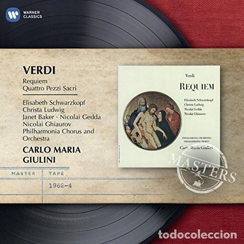 VERDI - REQUIEM - GIULINI (Música - CD's Clásica, Ópera, Zarzuela y Marchas)