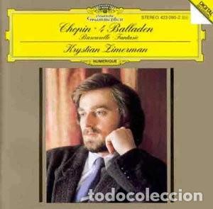 CHOPIN - 4 BALADAS - KRYSTIAN ZIMERMAN (Música - CD's Clásica, Ópera, Zarzuela y Marchas)