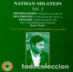 CONCIERTOS VIOLIN / MENDELSSOHN - BEETHOVEN - MOZART / NATHAN MILSTEIN (Música - CD's Clásica, Ópera, Zarzuela y Marchas)