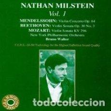 CDs de Música: CONCIERTOS VIOLIN / MENDELSSOHN - BEETHOVEN - MOZART / NATHAN MILSTEIN. Lote 146597554