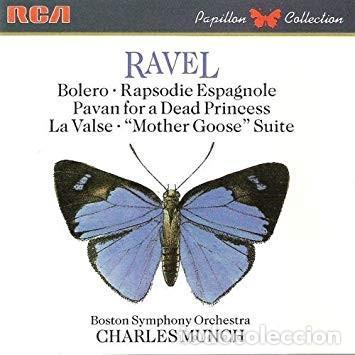 RAVEL - CHARLES MUNCH (Música - CD's Clásica, Ópera, Zarzuela y Marchas)