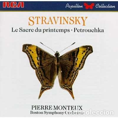 STRAVINSKY - LA CONSAGRACION DE LA PRIMAVERA / PETROUCHKA - MONTEUX (Música - CD's Clásica, Ópera, Zarzuela y Marchas)