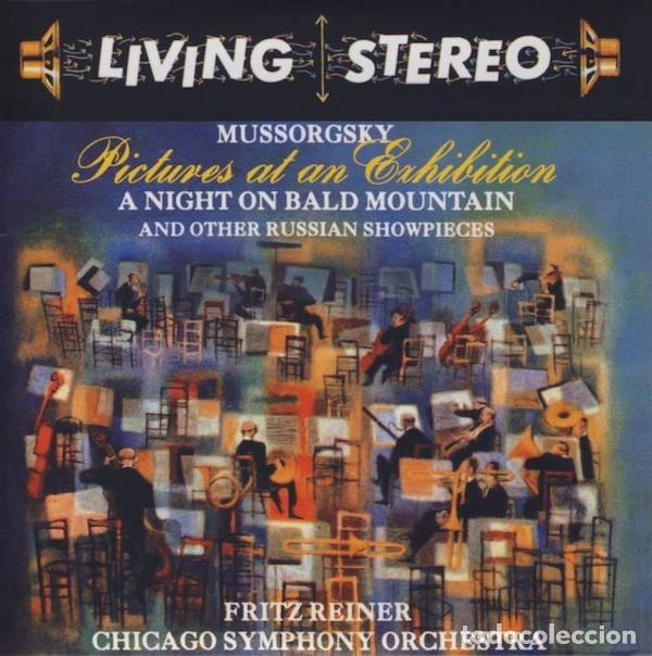 MUSSORGSKY - CUADROS DE UNA EXPOSICIÓN - FRITZ REINER (Música - CD's Clásica, Ópera, Zarzuela y Marchas)