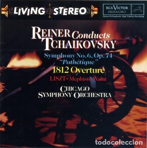 TCHAIKOVSKY - SINFONIA Nº 6 - FRITZ REINER - LIVING STEREO (Música - CD's Clásica, Ópera, Zarzuela y Marchas)