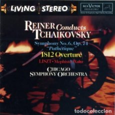 CDs de Música: TCHAIKOVSKY - SINFONIA Nº 6 - FRITZ REINER - LIVING STEREO. Lote 146597650