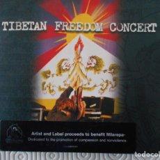 CDs de Música: TIBETAN FREEDOM CONCERT. TRIPLE COMPACTO. . Lote 146623098