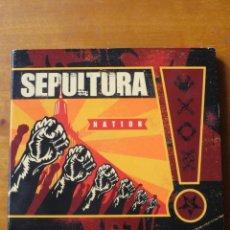CDs de Música: SEPULTURA - NATION (CD DIGIPAK). Lote 146642906