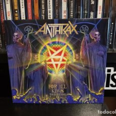 CDs de Música: ANTHRAX - FOR ALL KINGS - 2 CD'S - TOUR EDITION. Lote 146646506