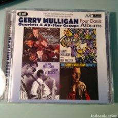 CDs de Música: GERRY MULLIGAN, GERRY MULLIGAN QUARTET – FOUR CLASSIC ALBUMS. Lote 146656570