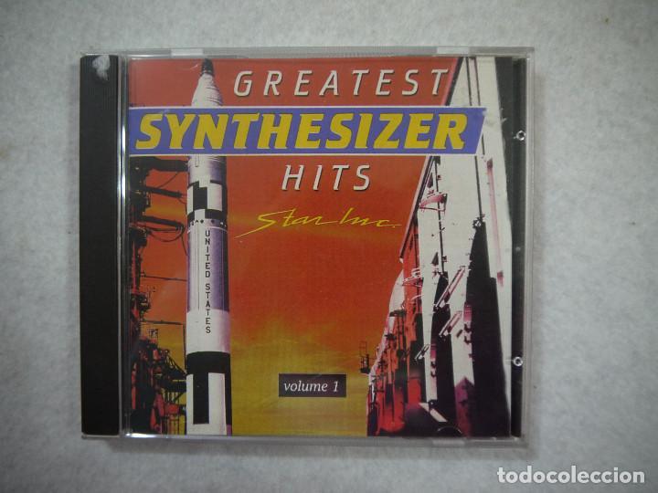 GREATEST SYNTHESIZER HITS STAR INC VOLUME 1 - CD 1990 (Música - CD's Otros Estilos)