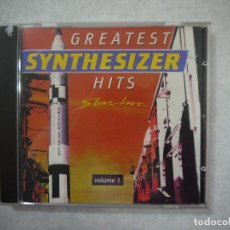 CDs de Música: GREATEST SYNTHESIZER HITS STAR INC VOLUME 1 - CD 1990 . Lote 146687858