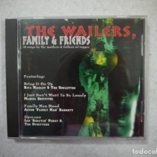 CDs de Música: THE WAILERS, FAMILY & FRIENDS - 18 SONGS BY THE MOTHERS & FATHERS OF REGGAE - CD 2001 . Lote 146689094