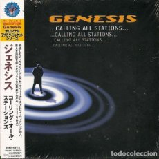 CDs de Música: OFERTA CD JAPON GENESIS - ...CALLING ALL STATIONS... IMITACION LP LIMITED. Lote 146714250