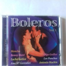 CDs de Música: BOLEROS. VOL.1. MONCHO. LUCHO GATICA. LOS PANCHOS. ANTONI MACHIN.... EN PERFECTO ESTADO. . Lote 146717134
