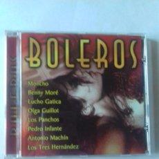 CDs de Música: BOLEROS. MONCHO. BENNY MORE. LUCHO GATICA. LOS TRES HERNANDEZ....... EN PERFECTO ESTADO. . Lote 146717326