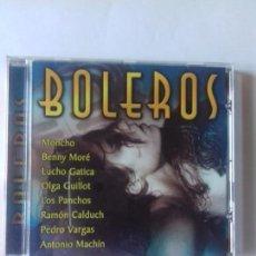 CDs de Música: BOLEROS. MONCHO. BENNY MORE. ANTONIO MACHIN. PEDRO VARGAS. RAMON CALDUCH.... EN PERFECTO ESTADO. . Lote 146717462
