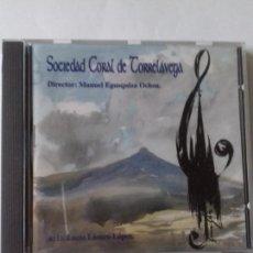 CDs de Música: SOCIEDAD CORAL TORRELAVEGA. DIRECTOR: MANUEL AGUSQUINZA OCHOA. EN PERFECTO ESTADO.. Lote 146727118