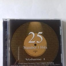 CDs de Música: 25 NUMBER 1 HITS. VOLUMEN 1. EN PERFECTO ESTADO.. Lote 146736326