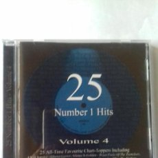 CDs de Música: 25 NUMBER 1 HITS. VOLUMEN 4. EN PERFECTO ESTADO.. Lote 146736486