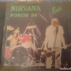 CDs de Música: NIRVANA - FORUM 89 - CONCIERTO -VER FOTOS. Lote 146737950