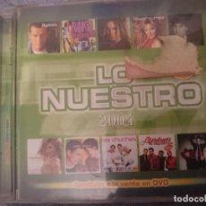 CDs de Música: LO NUESTRO 2004 -VER FOTOS. Lote 146738930