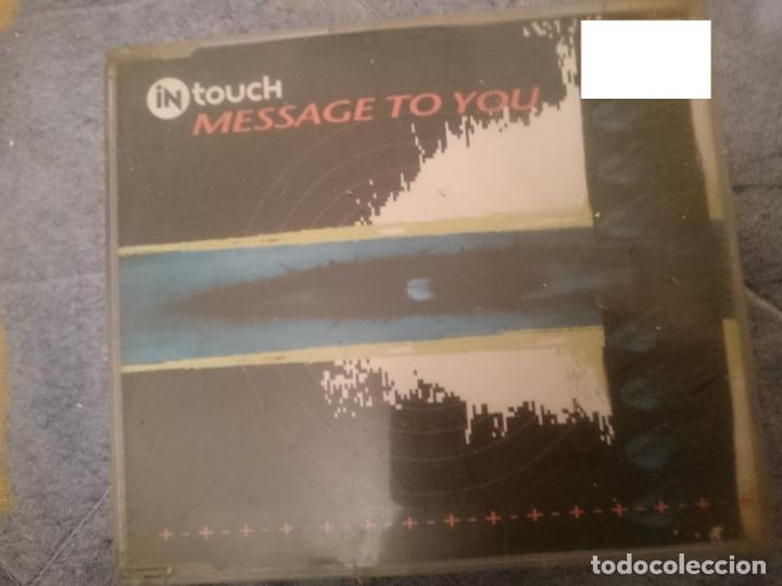 IN TOUCH - MESSAGE TO YOU - SINGLE (Música - CD's Techno)
