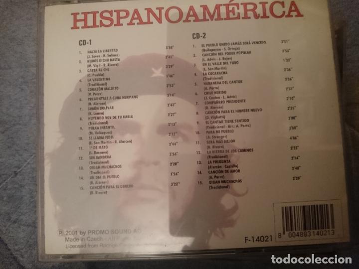 CDs de Música: HISPANOAMERICA -2 CD - MUSICA DEDICADA AL CHE GUEVARA Y REVOLUCIONARIOS - Foto 2 - 146739958