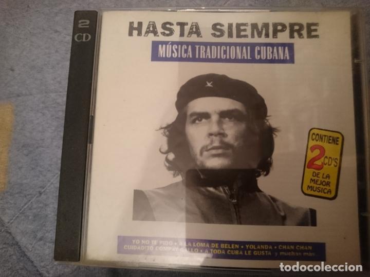 HASTA SIEMPRE -2 CDS -MUSICA TRADICIONAL CUBANA -DEDICADA AL CHE GUEVARA Y REVOLUCIONARIOS (Música - CD's World Music)