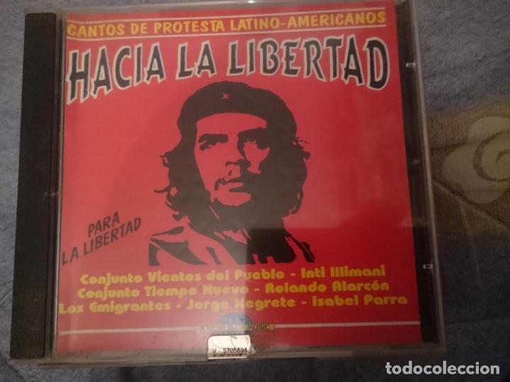 HACIA LA LIBERTAD - CANTOS PROTESTA LATINO-AMERICANOS -VER FOTOS (Música - CD's World Music)