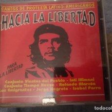 CDs de Música: HACIA LA LIBERTAD - CANTOS PROTESTA LATINO-AMERICANOS -VER FOTOS. Lote 146740466