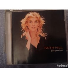 CDs de Música: FAITH HILL - BREATHE. Lote 146741062