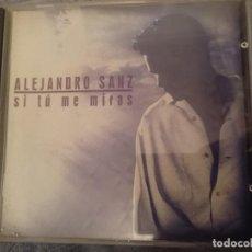 CDs de Música: ALEJANDRO SANZ - SI TU ME MIRAS. Lote 146743842