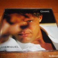 CDs de Música: LUIS MIGUEL DAME CD SINGLE DEL AÑO 1996 PORTADA DE PLASTICO ALEMANIA CONTIENE 1 TEMA. Lote 195094782