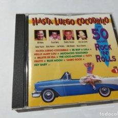 CDs de Música: HASTA LUEGO COCODRILO. LOS 50 MEJORES ROCK N ROLLS. CD 1.. Lote 146807434