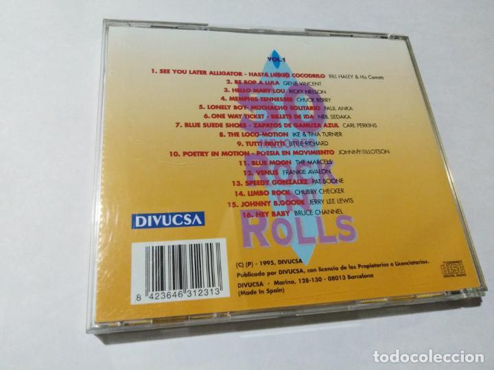 CDs de Música: HASTA LUEGO COCODRILO. LOS 50 MEJORES ROCK N ROLLS. CD 1. - Foto 2 - 146807434