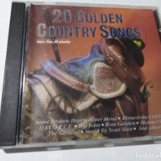 CD di Musica: 20 GOLDEN COUNRY SONGS. HEARTBEAT.. Lote 146807478