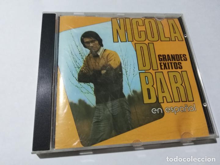 NICOLA DI BARI EN ESPAÑOL. (Música - CD's Otros Estilos)