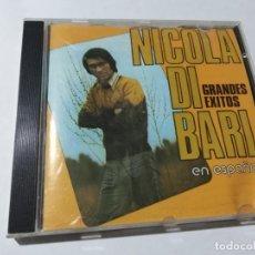 CDs de Música: NICOLA DI BARI EN ESPAÑOL.. Lote 146807554
